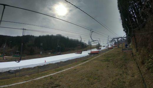 雪景色消え去った関西でも六甲山スノーパークなら真っ白人工雪で4月まで滑れる!