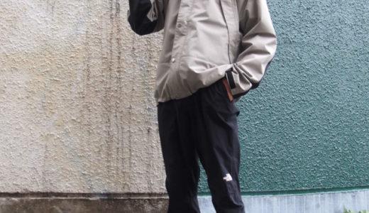 マウンテンレインテックスジャケットのサイズ感や冬の防寒着としての評判レビュー