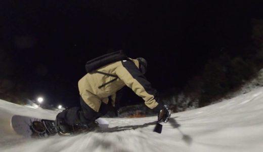 【関西 スキー場】福井県 今庄365スキー場 人も雪も増えてきたナイターゲレンデ  2月2日