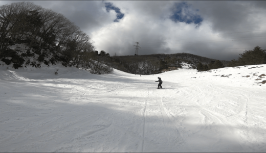 【関西 スキー場】滋賀県 国境高原スノーパークの雪質とアクセス レビュー!
