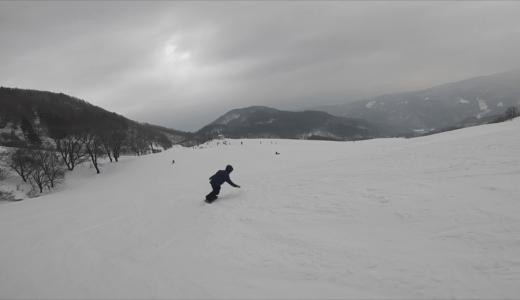 【関西 スキー場】兵庫県 おじろスキー場 1月5日 雪質 レビュー 全面滑走可!!