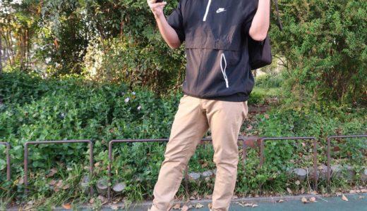 『ナイキ アノラックジャケット』買い物、街歩き、日常で使いやすいアノラック
