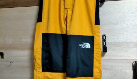 【THE NORTH FACE】ノースフェイスで雨対策!マウンテンレインテックスパンツを紹介レビュー!